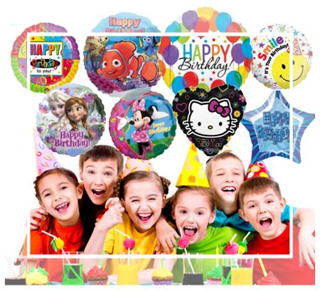 Luftballons für Kinder, Kinderluftballons